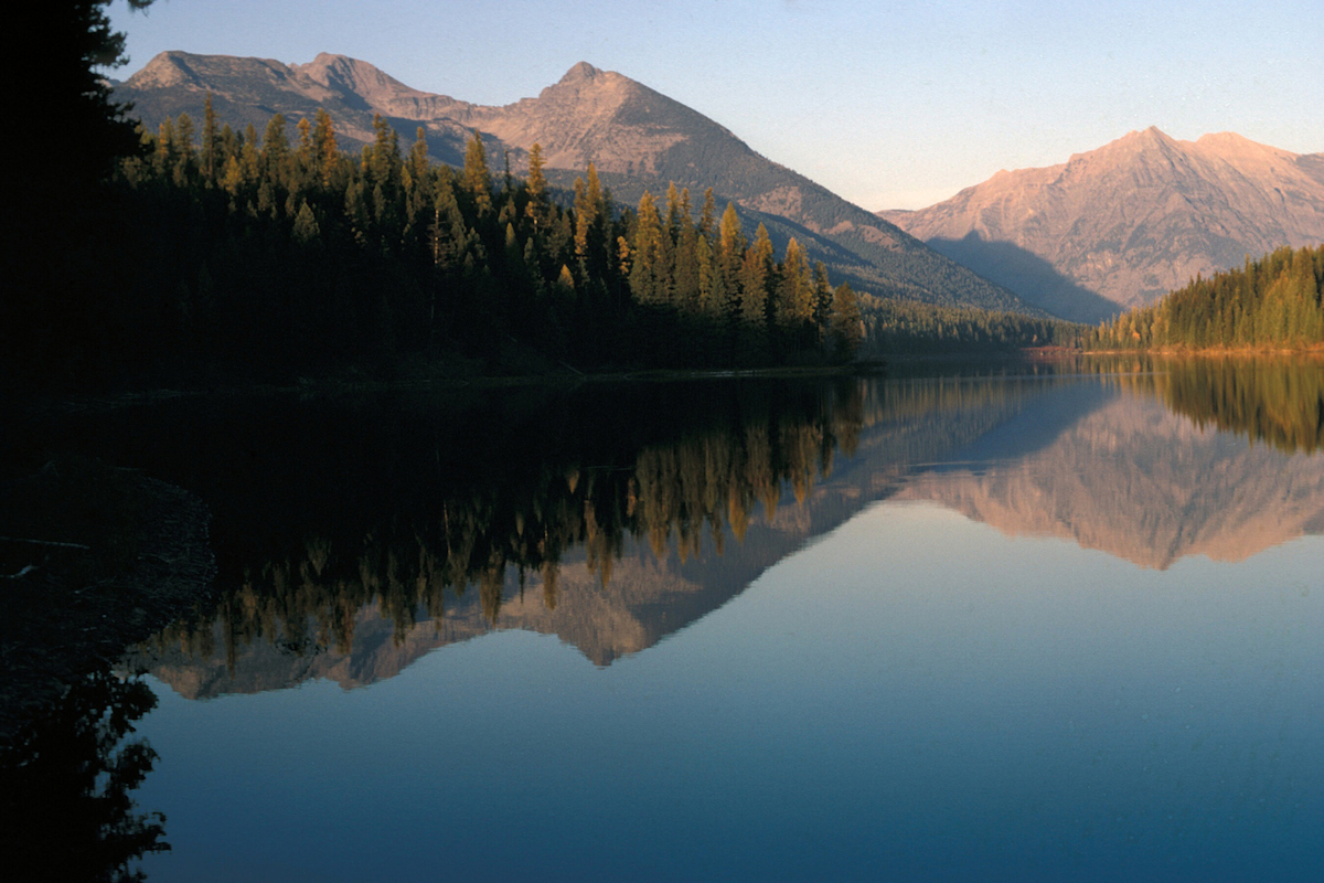 Logging Lake in Glacier National Park, USA - National Park Service