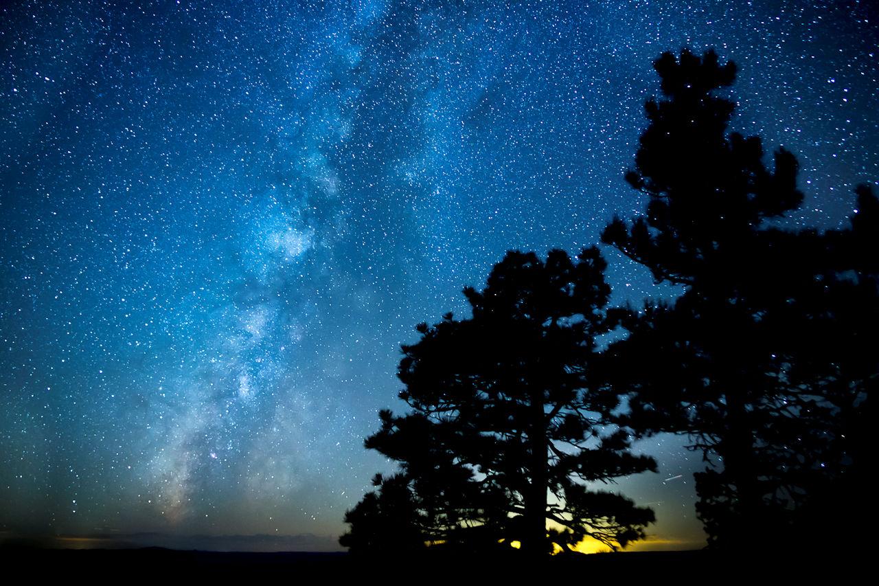 The Milky Way near the Grand Canyon - Bob Wick, BLM