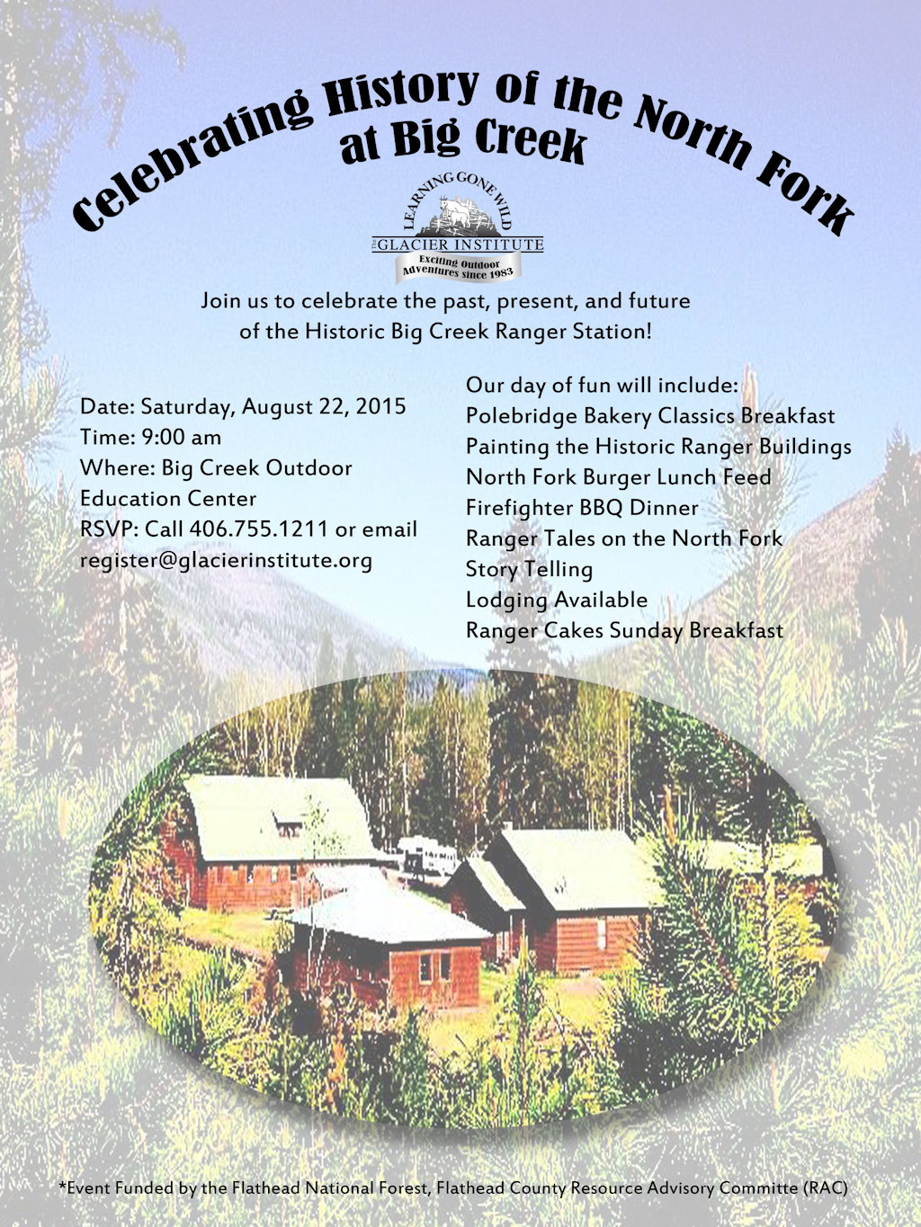 Big Creek Creek Ranger Station History Event