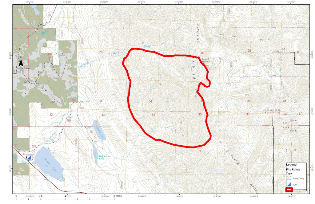 Mid Day Update On Marston Fire North Fork Preservation Association