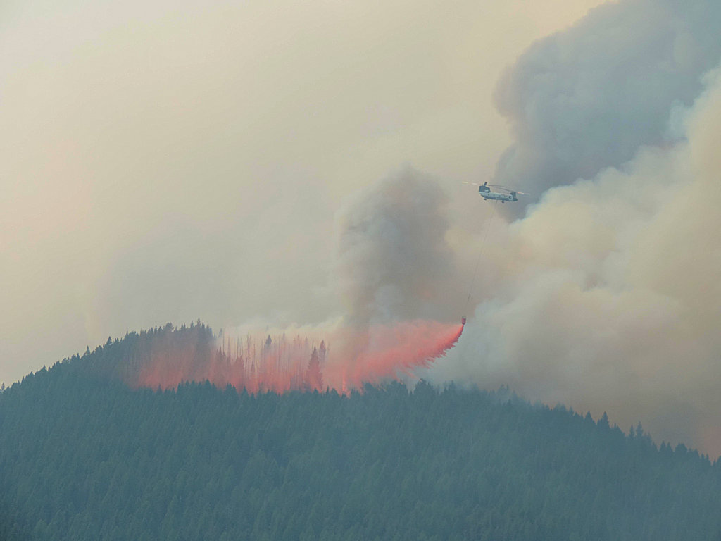 Sheep Fire, Aug 20, 2015