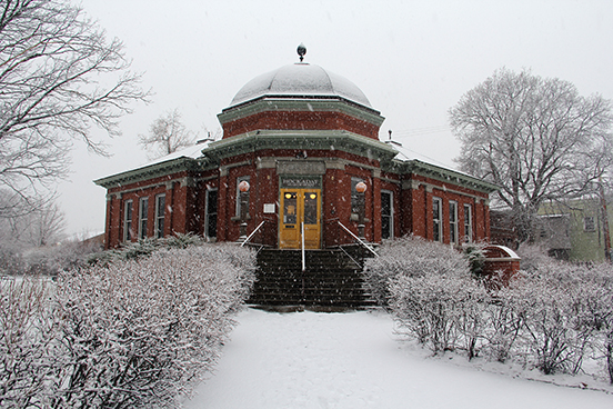 Hockaday Museum of Art in Winter