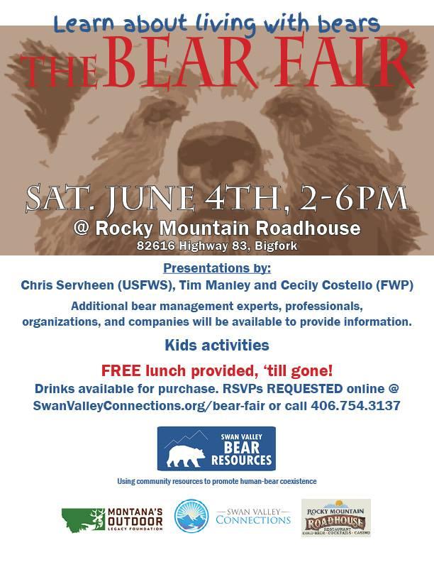 2016 Bear Fair Poster