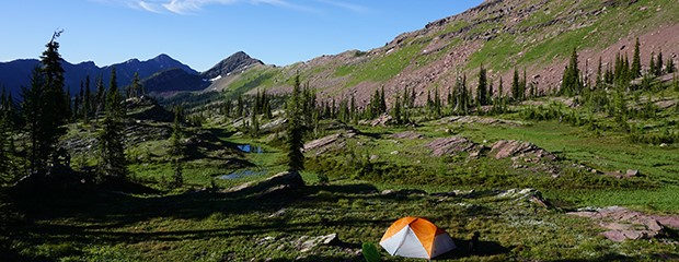 Grizzly Basin - added to the Bob Marshall Wilderness Area under the Blackfoot Clearwater Stewardship Act - Zack Porter photo