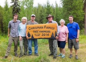 Chrisman Family - Tree Farmers of the Year 2016