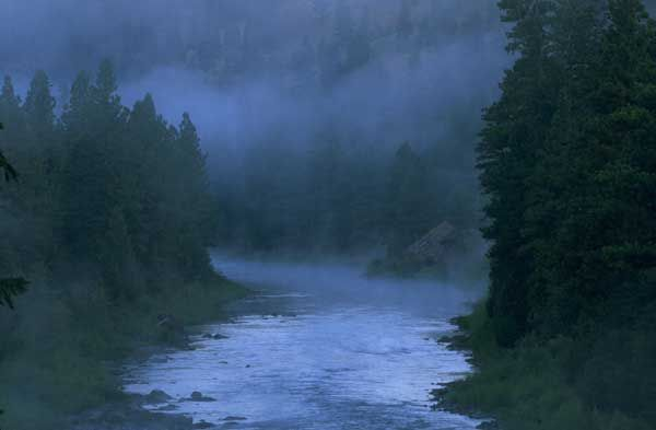 Blackfoot River, Lewis and Clark National Historic Trail - BLM Montana