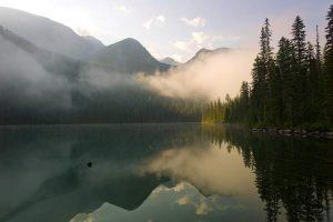 Grace Lake in Glacier National Park