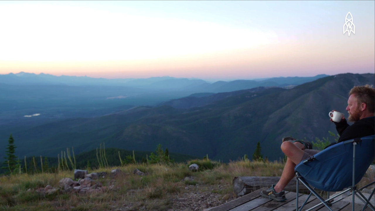 "Leif Haugen - ""The Lone Lookout: The Man Protecting Montana's Forests"" screenshot"
