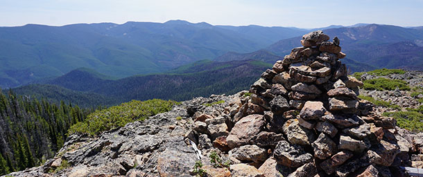 Blue Joint Wilderness Study Area in western Montana - photo by Zack Porter