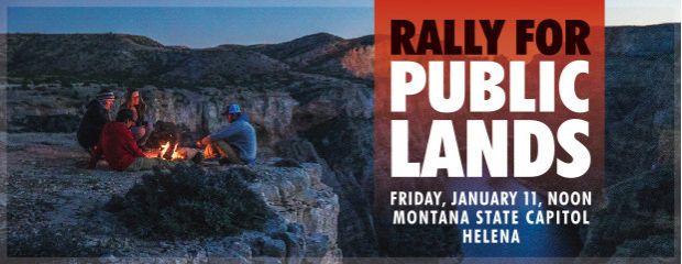 Rally for Public Lands - January 11, 2019