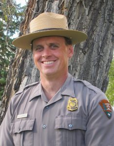 Pete Webster, Glacier National Park deputy superintendent