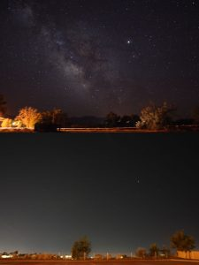 Rural and urban night skies - Jeremy Stanley, Flickr