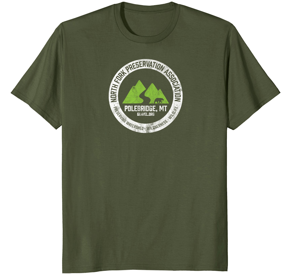 NFPA T-shirt - forest green